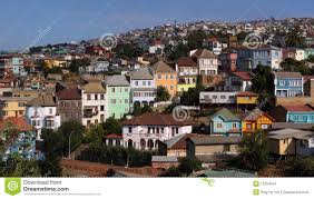 100 Houses In Chile Colorful Valparaiso Stock Image Image Of Colonial