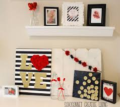 My Valentine Mantel IdeasGold RoomsGold BedroomRed