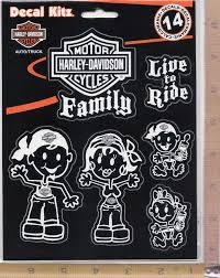 Harley Davidson Motorcycle Family & Pet Decal Set Window Sticker ... Unique Harley Davidson Decals For Golf Carts Northstarpilatescom Saddle Bag On A Motorbike With Sticker Saying Hog Vinyl Flame Wrap Flame Decals Are The Gas Tank Stamped In Or That Gets Ford Harleydavidson F150 Motor1com Photos Auto Trim Design Lightning And Graphic Wrap Kit 1991 Amazoncom Logo Cutz Rear Window Decal Whosale Now Available At Central Items 1 40 Die Script High Quality White Bling Full Color Wall 8 X 10 Sticker