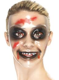 Purge Halloween Mask Uk by Smiling Woman Mask From Spirit Halloween Very Closely Resembles