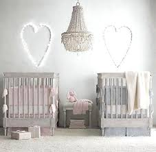Twin Baby Bedroom A Nursery Featuring The Spindle Crib From Restoration Hardware Is So Pretty