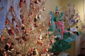 Dillards Christmas Tree Farm by Aluminum Christmas Tree And Ornament Museum Brevard