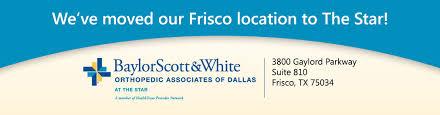 Baylor Scott & White Orthopedic Associates of Dallas Home