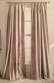 Dkny Curtain Panels Uk by Dkny Silver Metallic Panel Mineral Window Curtains Metallic Rod