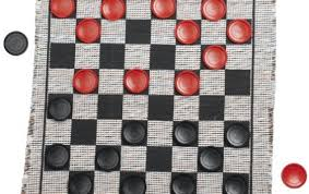 Draughts Checkers Board Game Rules
