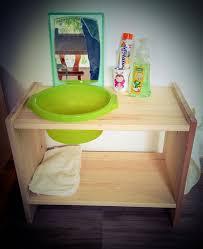 diy lavabo bébé montessori ikea hack montessori raum