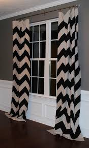 black and white chevron curtains scalisi architects