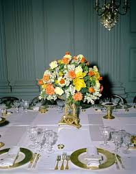 45 best Jackie Kennedy s White House Flowers images on Pinterest