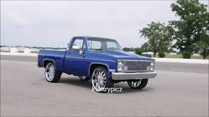 100 Trucks With Rims 3 Old School Chevy Trucks On Custom Rims YouTube