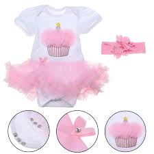Pink Lace Dress Girl Baby Cute Clothes Set For 22inch Baby Reborn