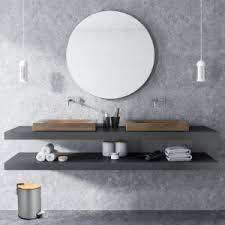 exitoso das original i kosmetikeimer für badezimmer i rutschfest dank anti rutsch boden treteimer i badeimer bambus holzdeckel mit absenkautomatik