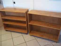 Heywood Wakefield Dresser Value by Refinishing Our Heywood Wakefield M321 Straight Bookcases No