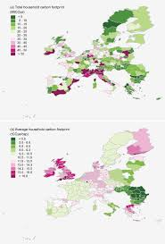 si e social syst e u mapping the carbon footprint of eu regions iopscience