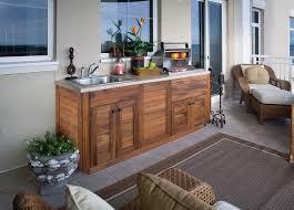 außenküche selber bauen holz