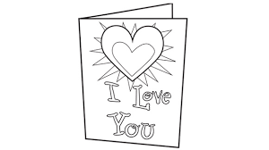 Your Grandkids Can Send A Message Of Love With This Free Printable Coloring Page Card