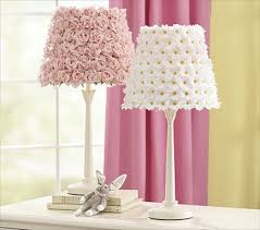 DIY Pottery Barn Flower Lamp Shades