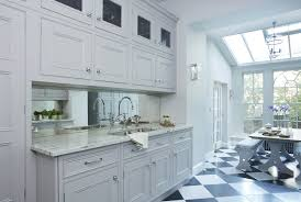 This Kitchen Was Designed Around A Lancanche Range Cooker Which Acts As Focal Point And Provides High Performance Cooking Double Height Wall Units