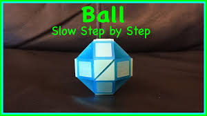rubik u0027s twist or smiggle snake puzzle tutorial how to make a ball