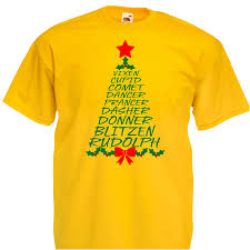 Donner And Blitzen Christmas Trees by Reindeer Name Tree Alternative Christmas T Shirt