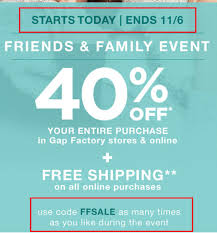 Gap Factory Outlet Coupon Code / Staples Chair Coupon 2018 Gap Factory Coupons 55 Off Everything At Or Outlet Store Coupon 2019 Up To 85 Off Womens Apparel Home Bana Republic Stuarts Ldon Discount Code Pc Plus Points Promo 80 Toddler Clearance Southern Savers Please Verify That You Are Human 50 15 Party Direct Advanced Personal Care Solutions Bytox Acer The Krazy Coupon Lady