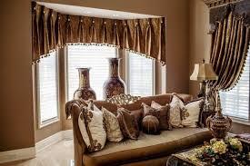 black drum shade arch l lights living room curtain ideas brown