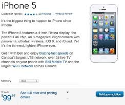 Bell TELUS 64GB for $199 Slash iPhone 5 Prices on 3 Year Terms