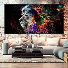 wandbild löwe günstig kaufen ebay