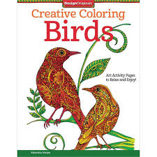 Design Originals Creative Coloring Book Birds