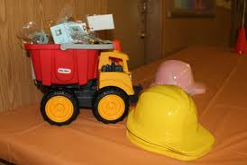 Pink Dump Truck Luxury Construction Themed Party For My Sons S 2nd ...