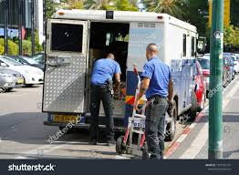 100 2 Men And Truck Two Guards Brinks Company Stock Photo Edit Now