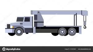 Crane Boom Truck Vehicle Icon — Stock Vector © Andriocolt #191623690