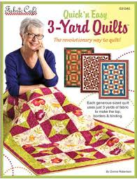 N Easy 3 Yard Quilts Pattern Book
