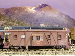 N Scale Western Pacific Caboose – Voltscooter Engineering