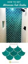 Little Mermaid Bathroom Accessories Uk by How To Get Moroccan Fish Scale Tile Look Through Mercury Mosaics