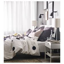 trysil bed frame white luröy standard double ikea