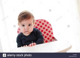 Six (6) Month Old Baby Girl In High Chair Stock Photo: 87047772 - Alamy Stokke Tripp Trapp High Chair Baby Set 2018 Wheat Yellow Amazoncom Jiu Si High Leather Metal 6 Months 4 Ddss Chair Pu Seat Cushion My Babiie Highchair Review Keekaroo Hr Tray Infant Insert Espr Aqua Little Seat Travel Highchair Coco Snow Direct Ademain 3 In 1 Chairs Month Old Mums Days Empoto Pp Stainless Steel Tube Mat Bjorn Br2 Bromley For 8000 Sale Shpock Childwood Evolu 2 Evolutive Kids White Six Month Old Baby Girl Stock Photo 87047772 Alamy