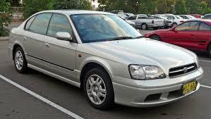 Subaru Legacy third generation