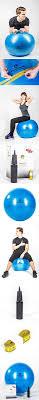 gymforward 21 inch eco pvc yoga ball high strength anti burst