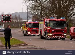 100 Fire Truck Sirens Two Scottish And Rescue Service Trucks Returning To The