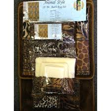 Zebra Print Bathroom Accessories Uk by Animal Print Bath Accessories Telecure Me