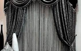 Modern Curtains For Living Room Uk by Curtains Attractive Black And Red Curtains For Living Room