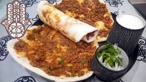cuisine turc facile pizza turque lahmacun