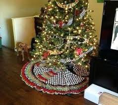 Garland Trees Ribbon Tree Skirt And Beaded Included Crafts Seasonal Holiday Decor This Christmas