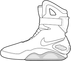 Coloring Pages For Shoes In Jordans
