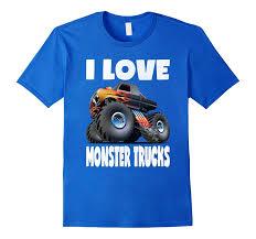 100 Monster Truck T Shirts I Love S Vintage Retro ShirtR
