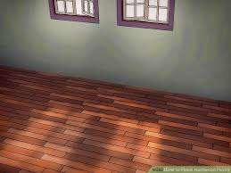 Buffing Hardwood Floors Youtube by How To Finish Hardwood Floors With Pictures Wikihow