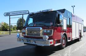 100 Mass Fire Trucks New EONE Stainless Steel Rescue For Lowell FD