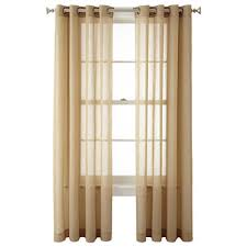 Jc Penney Curtains Martha Stewart by Yellow Curtains U0026 Drapes Jcpenney