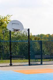 terrain de basket exterieur terrain de basket extérieur avec la surface en plastique