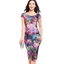 15 Colors S XXL Women Pencil Dresses 2017 Western Fashion Design Girls Slim Vestidos Ladies